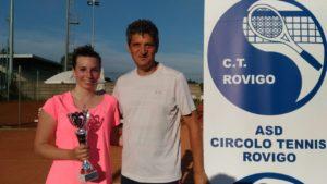 Berti vincitrice torneo femminile